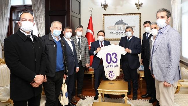 Afjet Afyonspor'un her zaman yanındayız