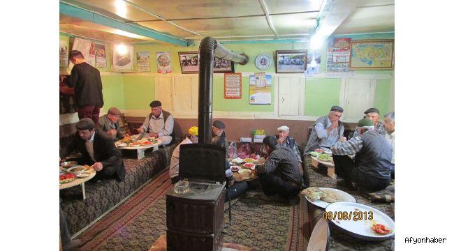 Afyon'da köy odaları geleneği ve sevgi yılı…