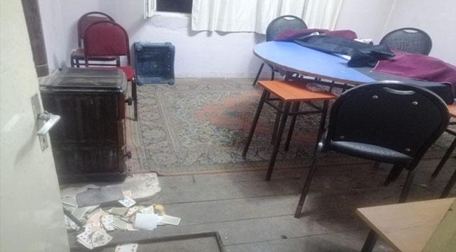 Afyon'da kumar oynayan 8 kişiye para cezası
