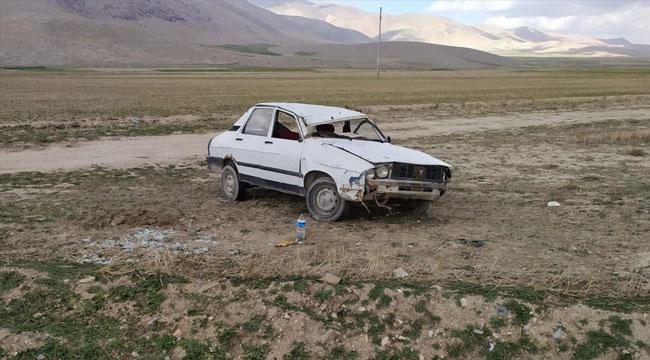 Afyon'da otomobil devrildi: 1 yaralı
