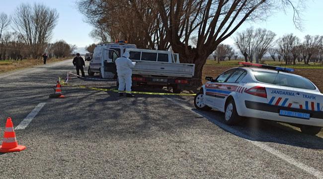 Afyon'da yol kenarında kadın cesedi bulundu