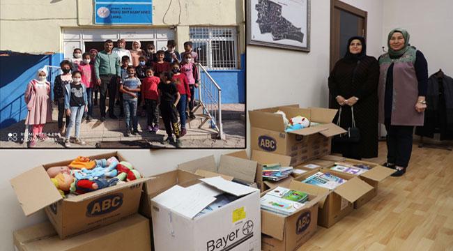 Afyon'dan Şırnaklı çocuklara eğitim desteği