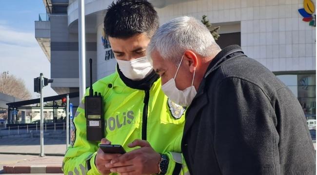 Afyon Polisi, her zaman vatandaşın yanında