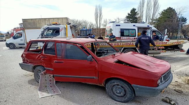Afyon Sandıklı'da kaza