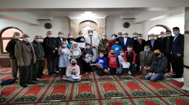 Afyonda sömestr tatilinde çocuklara din eğitimi verildi