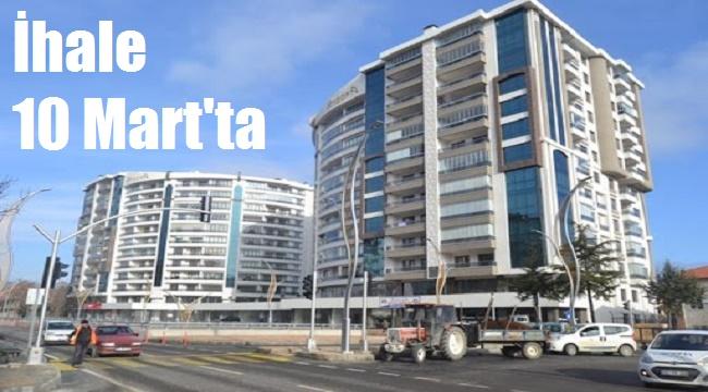 Afyonkarahisar Belediyesi, 7 daire ve 1 dükkanı ihale ile satacak