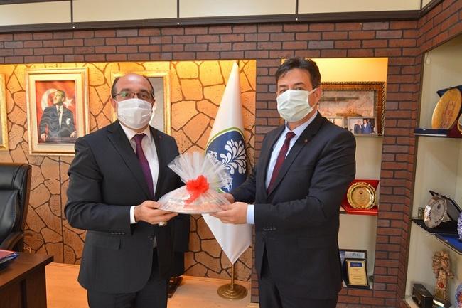 Ali Temiz'den Başkan Çöl'e ziyaret