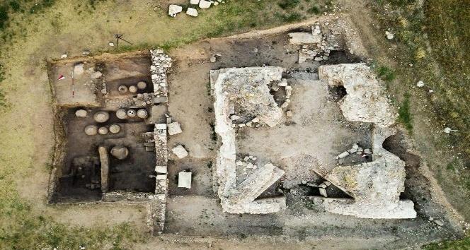Anadolu Üniversitesi'nin Amorium kazıları devam ediyor