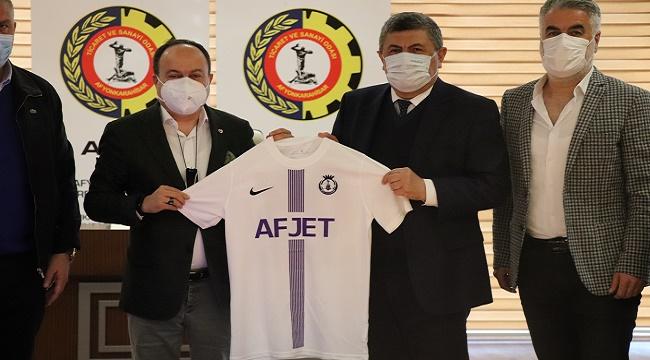 ATSO, her zaman Afjet Afyonspor'a destek oldu