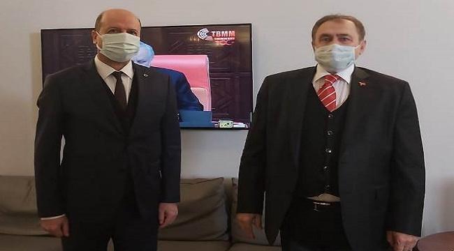 Başkan Bozkurt, Ankara'da temaslarda bulundu