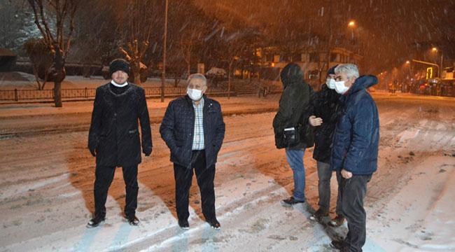 Başkan Zeybek: Aralıksız çalışıyoruz, sürücülerimiz de dikkatli olmalı