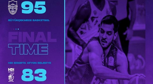 Büyükçekmece Basketbol:95 HDI Sigorta Afyon Belediyespor:83