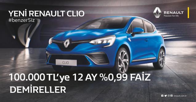 Clio'da kampanya, Renault Afyon Demireller'de