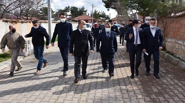 Dazkırı'da Kaymakam ve Başkan, Akarca Köyünü ziyaret etti