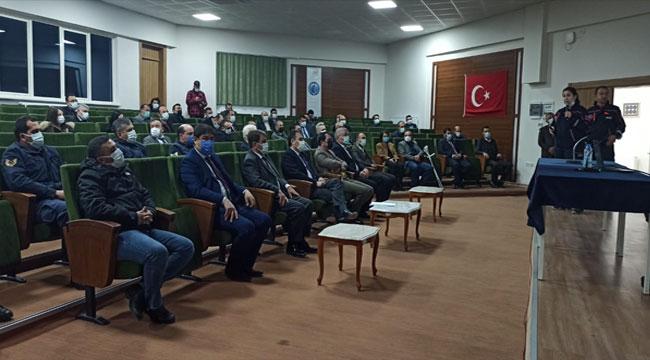 Dinar'da Afet Farkındalık eğitimi verildi