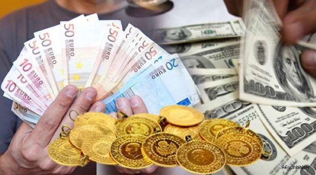 Dolar, euro ve altın çakıldı!..