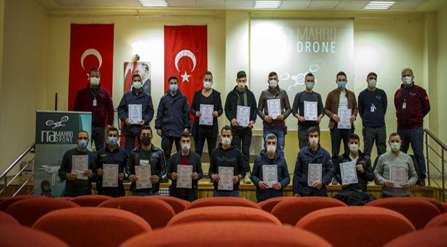 Emirdağ'da drone eğitimi verildi