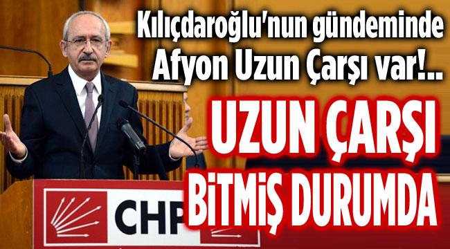 Kılıçdaroğlu, Afyon Uzun Çarşı'yı anlattı