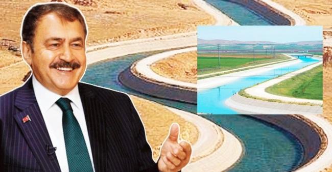 Mardin'e muazzam su yatırımları gerçekleştirdik