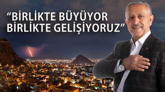 Mehmet Zeybek: Hedefimiz büyüyen ve gelişen bir Afyon