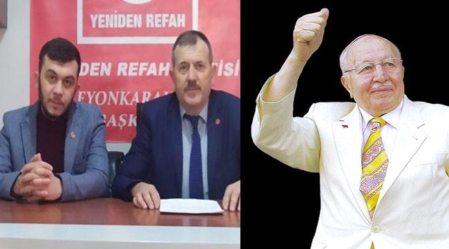 Merhum Necmettin Erbakan, Afyon'da yad ediliyor