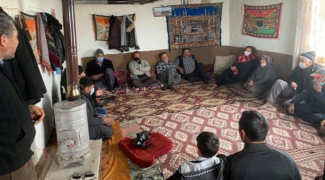 Milletvekili Köksal, Kocaöz, Haydarlı ve Bağcılar'da halkın sorunlarını dinledi