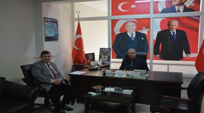Muhtar Yalçınkaya'dan Milletvekili Taytak'a teşekkür