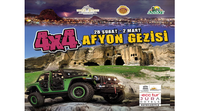 Off-road severler Afyon'da buluşuyor