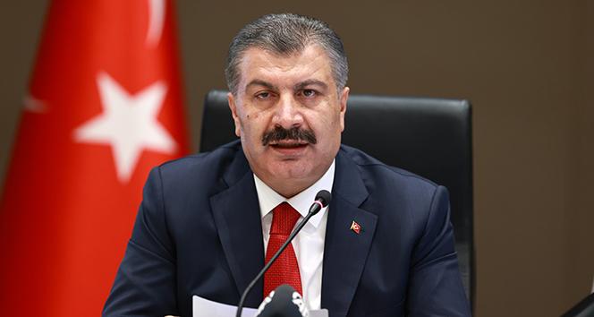 Sağlık Bakanı Fahrettin Koca, pozitif sayısı en çok artan ve azalan 5 ili açıkladı