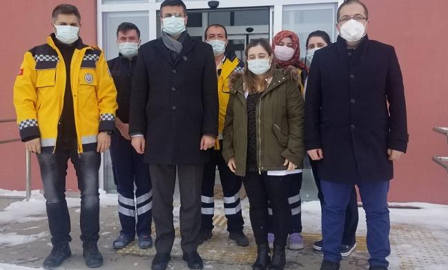 Sağlık Müdürü Serhat Korkmaz Düzağaç'ta