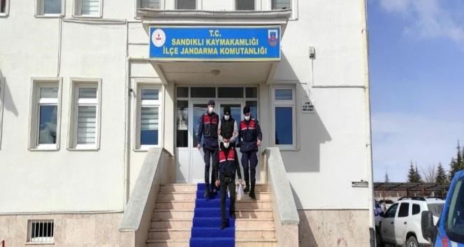 Sandıklı'da suç makinesi, JASAT operasyonu ile yakalandı