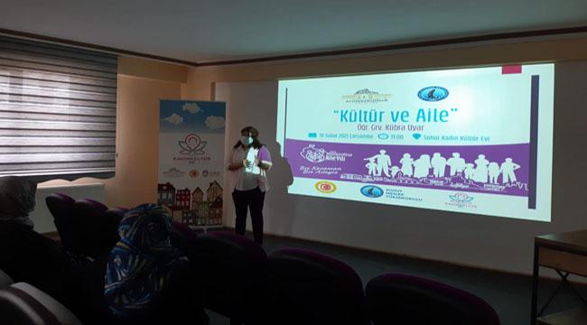 Şuhut Kadın Kültür Evi'nde 'Evde Gıda Hijyeni' konulu seminer