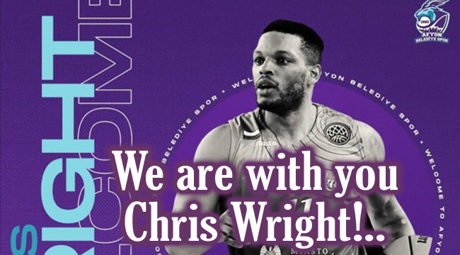 We are with you Chris Wright!..