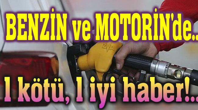 Benzin ve motorine zam geldi, ancak...