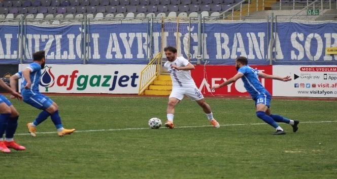 Afjet Afyonspor, Ergene Velimeşespor'u 2-1 mağlup etti