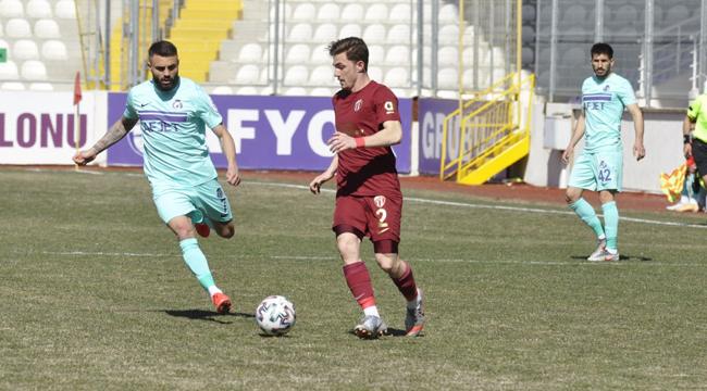 Afjet Afyonspor, İnegölspor'u 2-0 mağlup etti