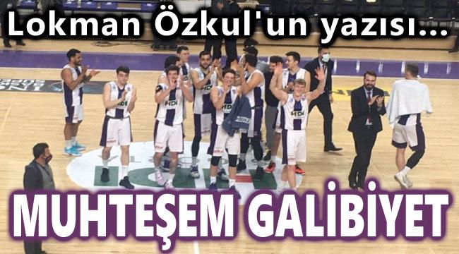 Afyon Belediyespor'dan muhteşem galibiyet