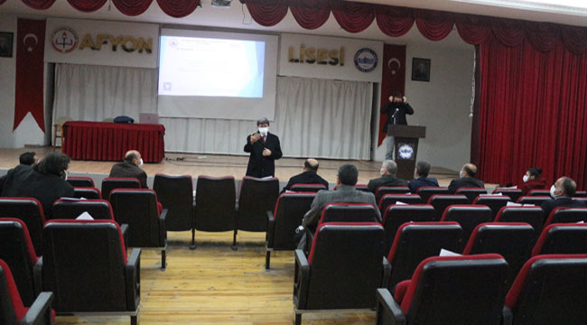 Afyon'da AKİS toplantısı