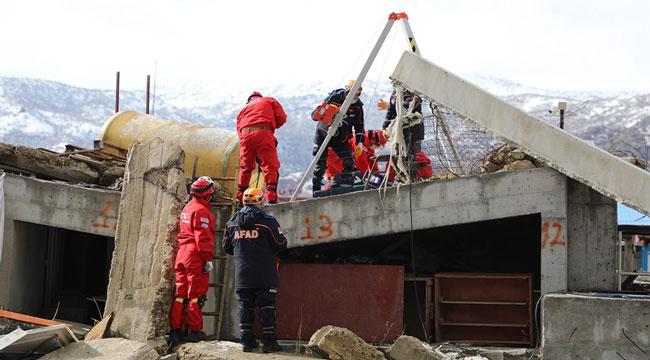 Afyon'da deprem tatbikatı yapıldı