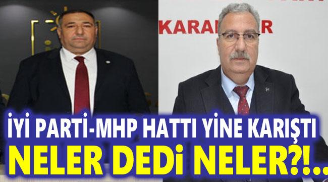 Afyon'da İYİ Parti ile MHP arasında sert atışma!..