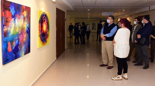 Afyon'da Rengin Diyalektiği sergisi açıldı
