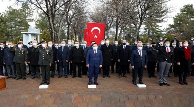 Afyon'da Şehitleri Anma ve Çanakkale Zaferi'nin yıl dönümü törenle kutlandı