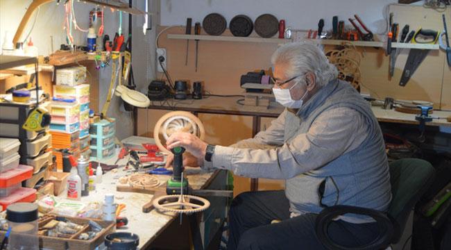 Afyonlu emekli Harbi, kendi adıyla saat üretmeye başladı