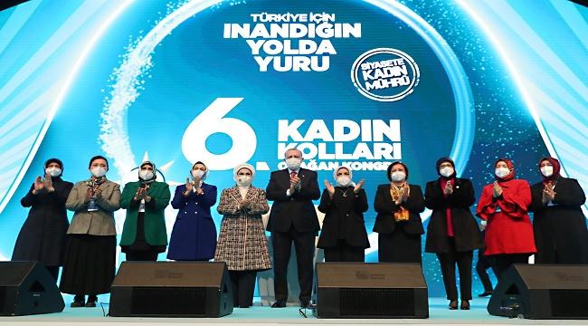 AK Parti Kadın Kolları kongresinde Ertürk divan üyesi seçildi