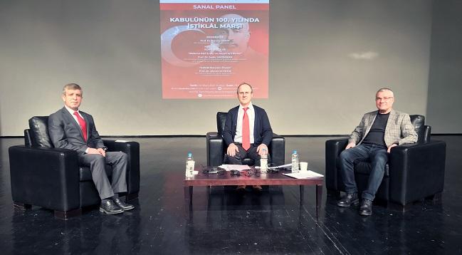 AKÜ'de İstiklal Marşı Paneli düzenlendi