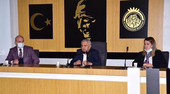 Afyon'da altyapı koordinasyon toplantısı yapıldı