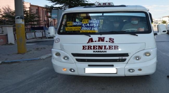 ANS-Erenler minibüs hattı güzergahı değişti