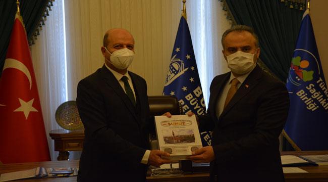 Başkan Bozkurt, Bursa Büyükşehir Belediye Başkanı Alinur Aktaş'ı ziyaret etti