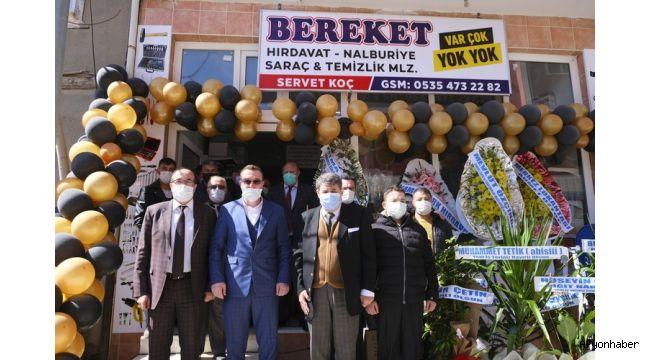 Başkan Mustafa Çöl, işyeri açılışlarına katıldı