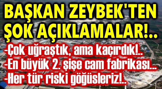 Başkan Zeybek'ten Afyon'a yatırımlarla ilgili şok açıklama!..